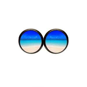 Beach Panorama Earrings